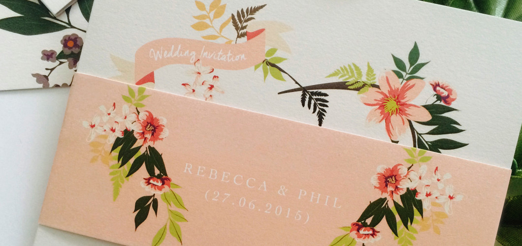Eden Wedding Invite