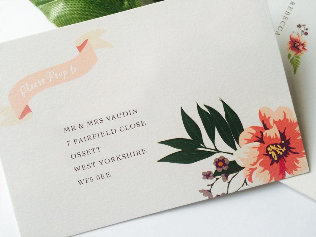 Eden Wedding Invites