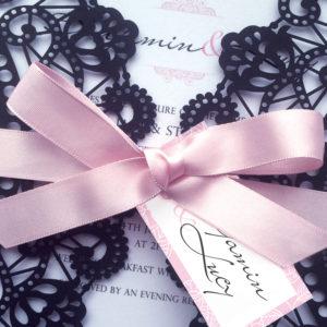 Parfum Laser Cut Wedding Invites