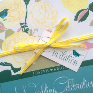 Songbird Wedding Invites