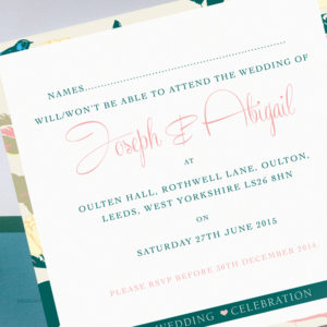 Songbird Wedding Invites