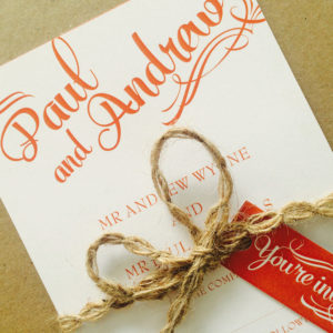 Bliss Wedding Invites