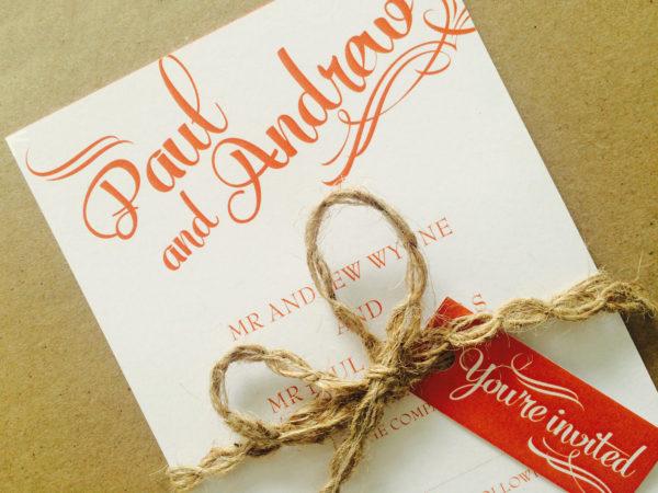 Bliss Wedding Invites