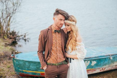 Vanilla Wedding couple
