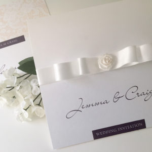 Rose Wedding Invites