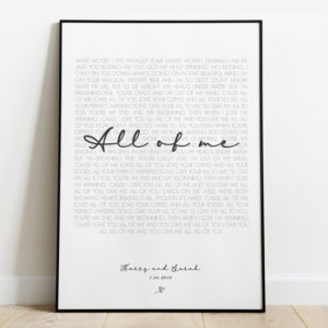 Wedding Song Print