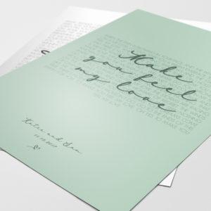 Wedding Song Print
